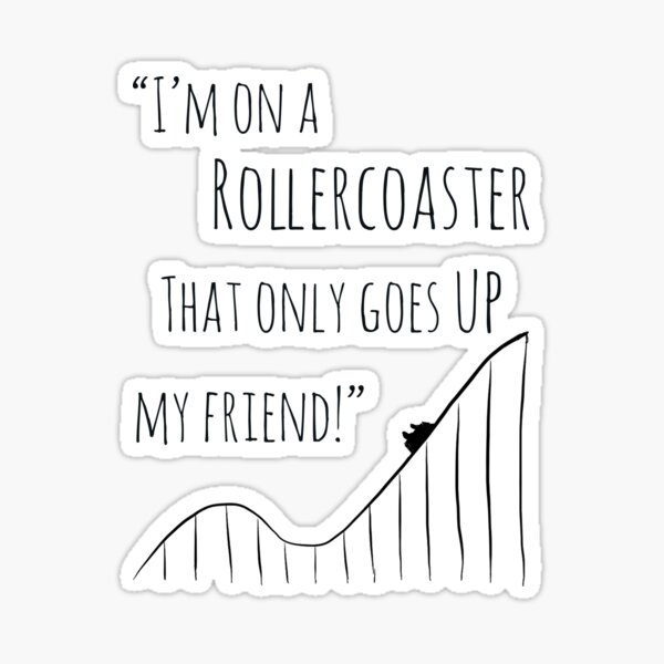 The Fault in Our Stars Rollercoaster Sticker