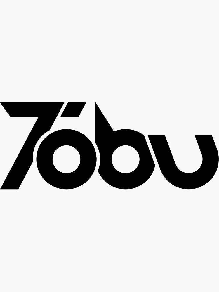 Tobu - Black Logo Design by outertone