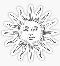 Pegatina Logotipo de Tumblr Inspired Sun