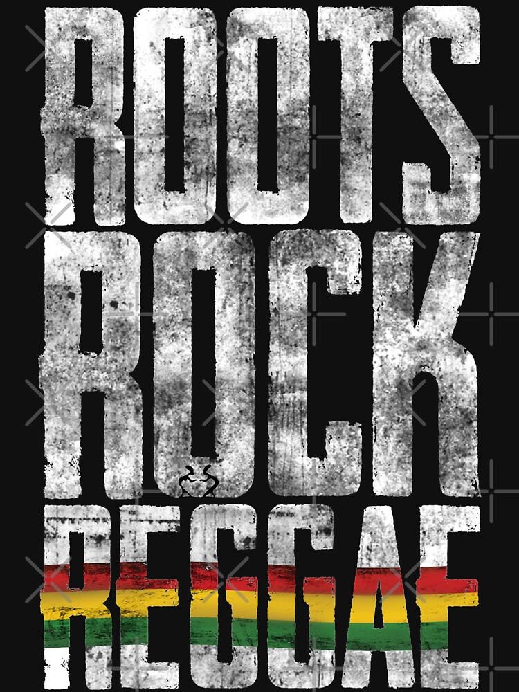 Roots Rock Reggae - dein neues Raggae-Shirt, der Festivalsommer kann kommen! von Periartwork