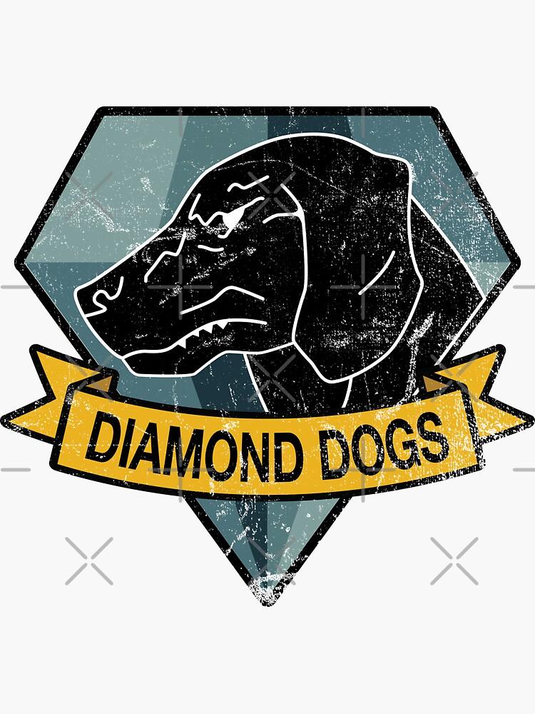 MGS - DIAMOND DOGS Logo by steviecomyn