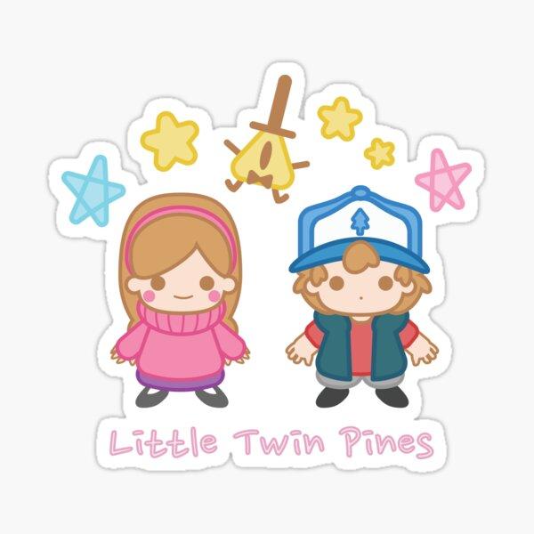 Little Twin Pines Sticker