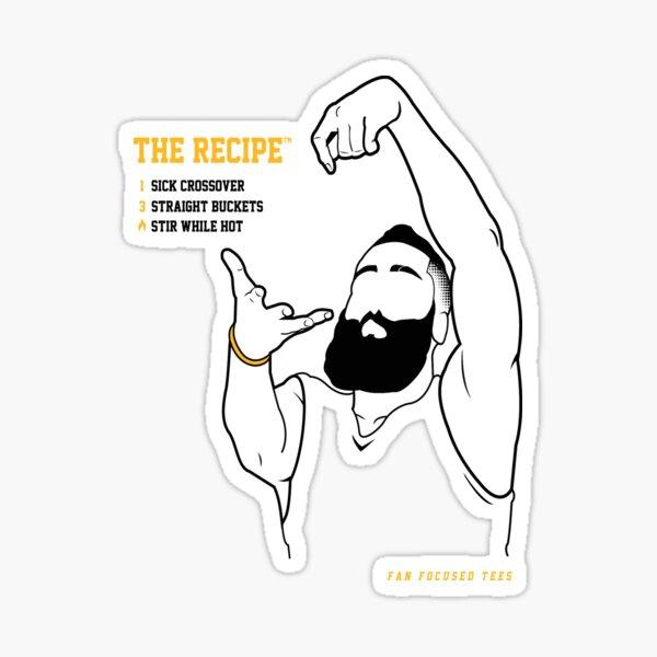The Recipe  Sticker