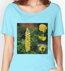 Frühlings- und Sommerblumen-Collage Loose Fit T-Shirt
