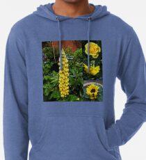 Frühlings- und Sommerblumen-Collage Leichter Hoodie