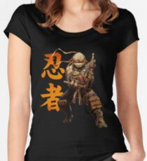 Cowabunga Dude Women's Fitted Scoop T-Shirt