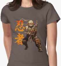 Cowabunga Dude Womens Fitted T-Shirt