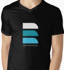 """""""E"""" Logo Shirts  Men's V-Neck T-Shirt"""