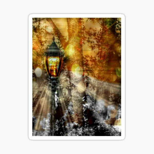 LampPost in Narnia Sticker