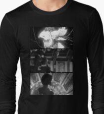 Camiseta de manga larga fantasma en la concha