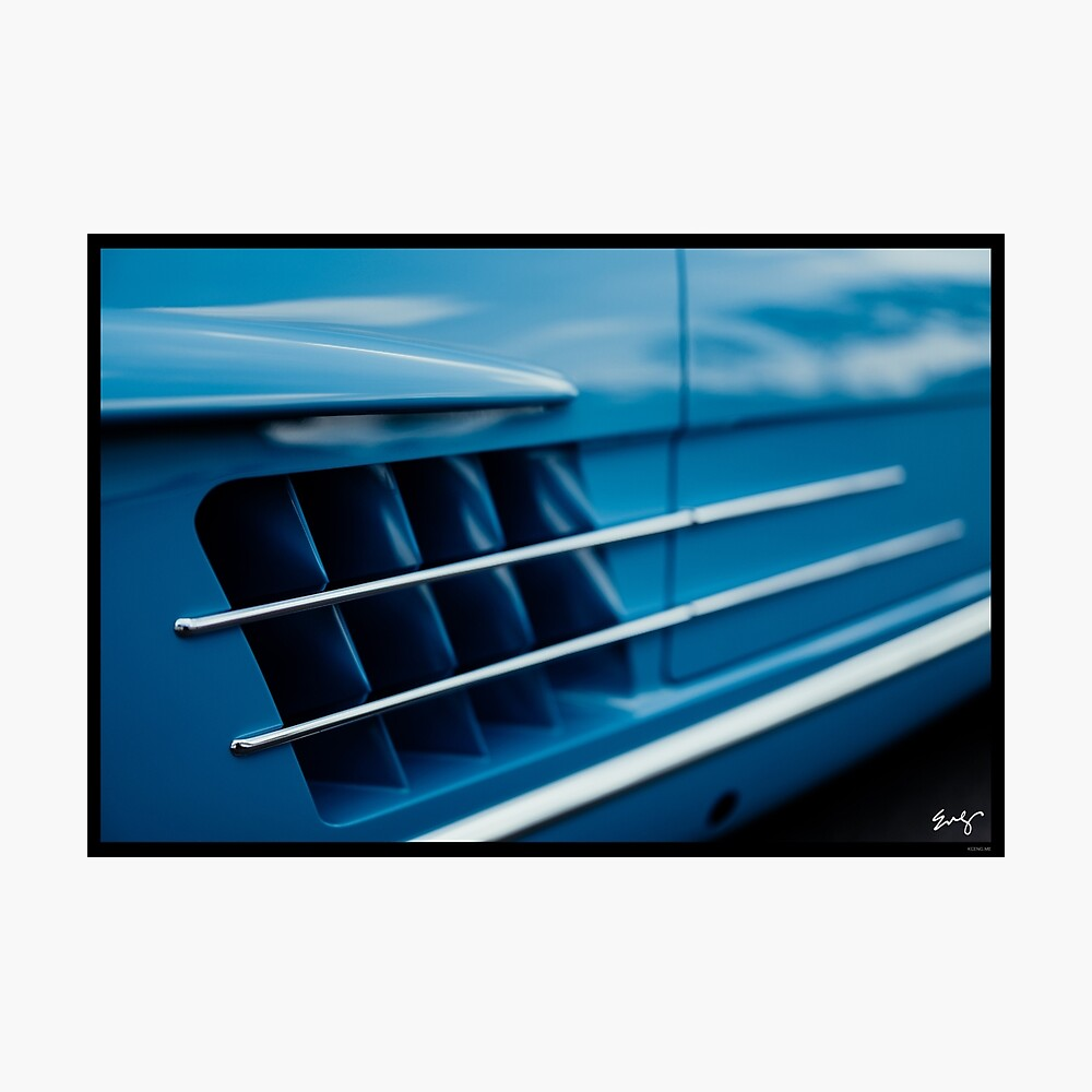 Mercedes 300SL Roadster Photographic Print