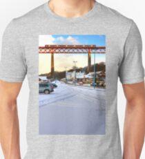 Queensferry Promenade in the snow Unisex T-Shirt