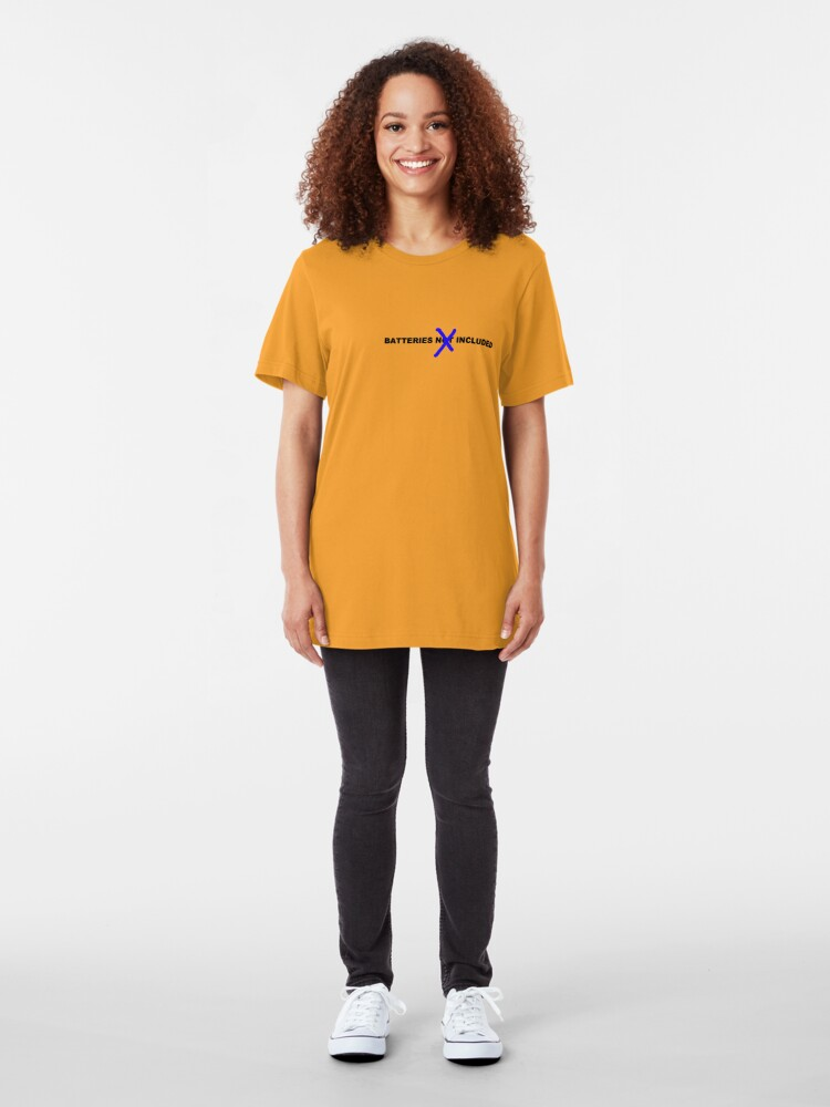 Alternate view of Batteries Included Slim Fit T-Shirt