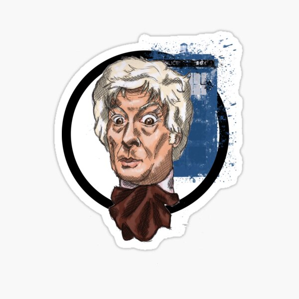 Third Lord of Time Sticker