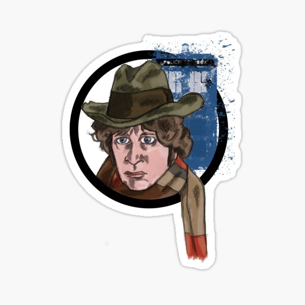 Fourth Lord of Time Sticker