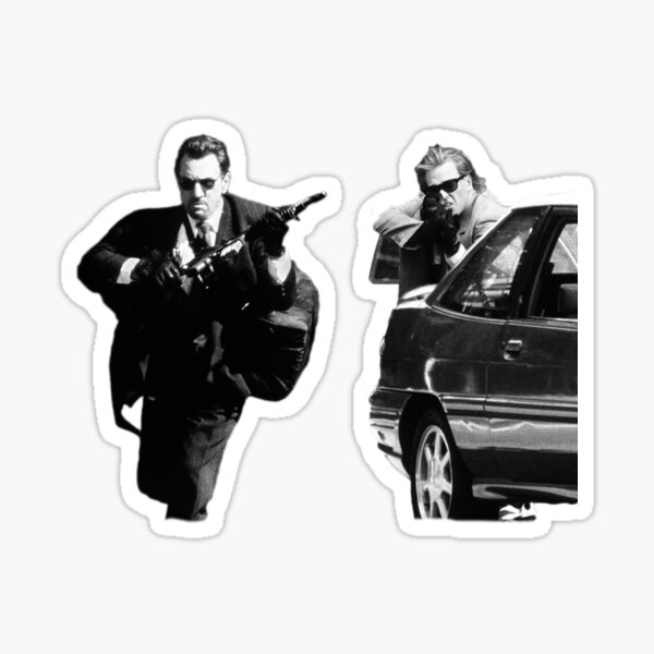 Heat - Heist Sticker