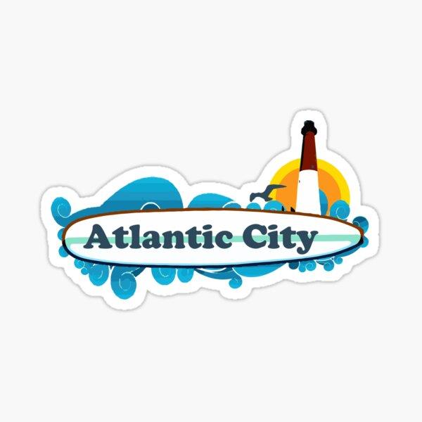 Atlantic City. Sticker
