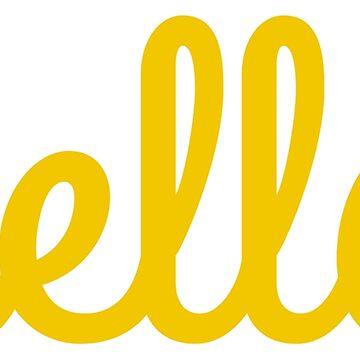 Hola amarillo de MyArt23