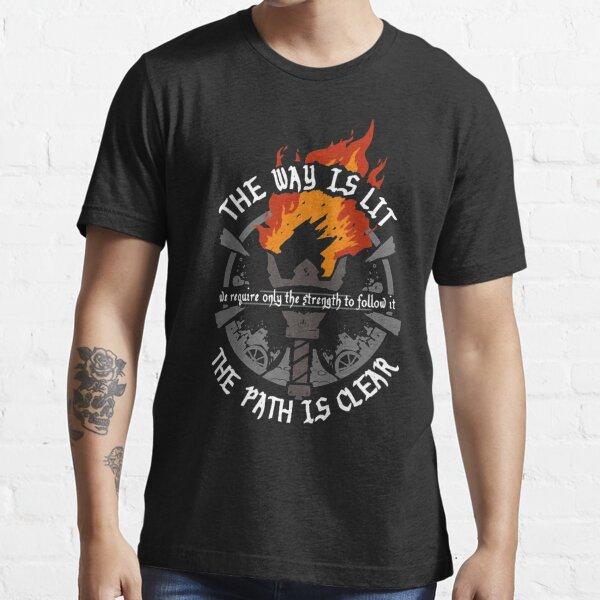 Intitulado Camiseta esencial