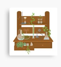 Chemistry in Bloom Canvas Print