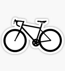 Road bike sticker