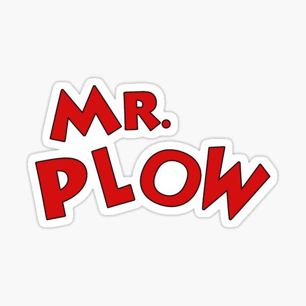 es el señor Plough Pegatina