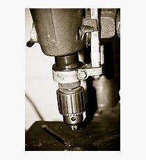 Old Drill Press 2 Photographic Print