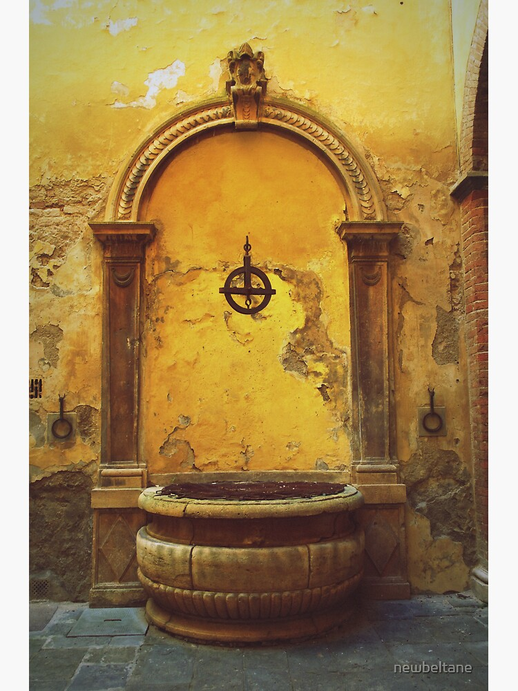 Siena, Tuscany, Italy - peeling paint by newbeltane