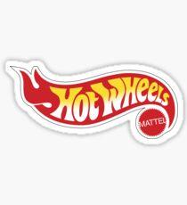 logo Hot wheels merchands Sticker