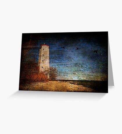 Presqu'ile Lighthouse Greeting Card