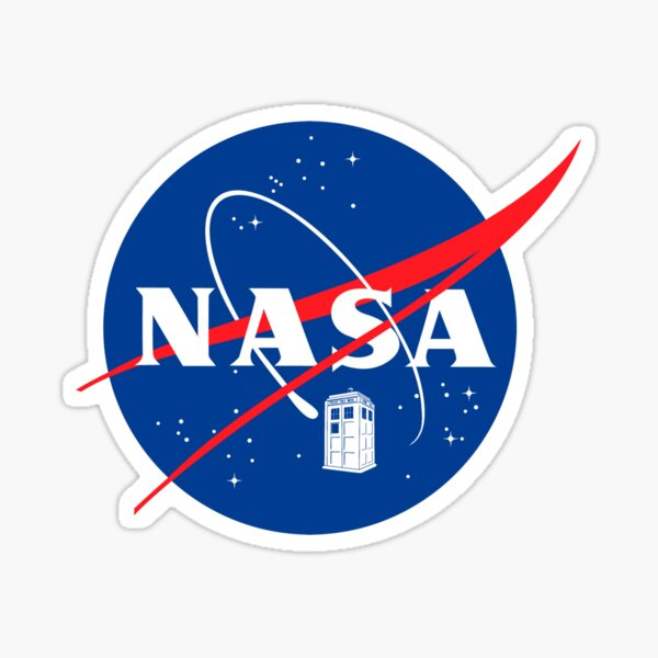 NASA TAR DIS Sticker