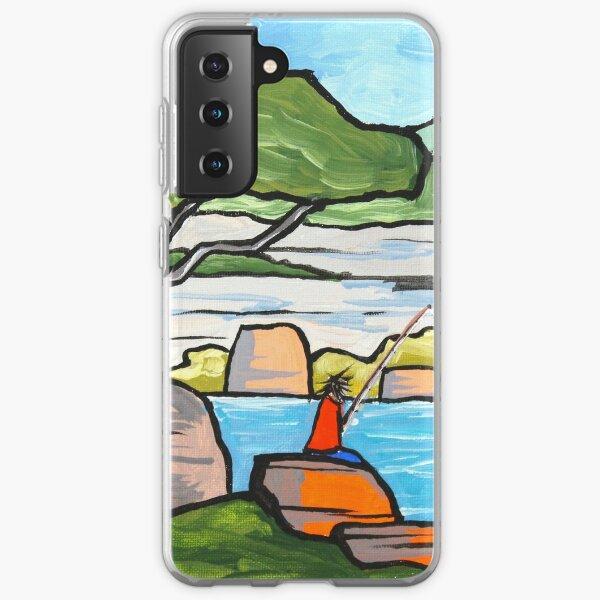Fishing at Shelly Beach Samsung Galaxy Soft Case