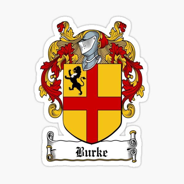 Burke (Earls of Ulster) Sticker