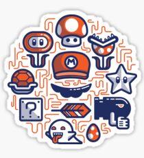 Mario Essentials Sticker