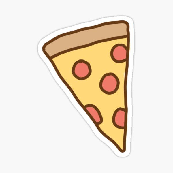 Cute Tumblr Pizza Pattern Pegatina