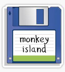 Monkey Island Retro MS-DOS/Commodore Amiga games Sticker