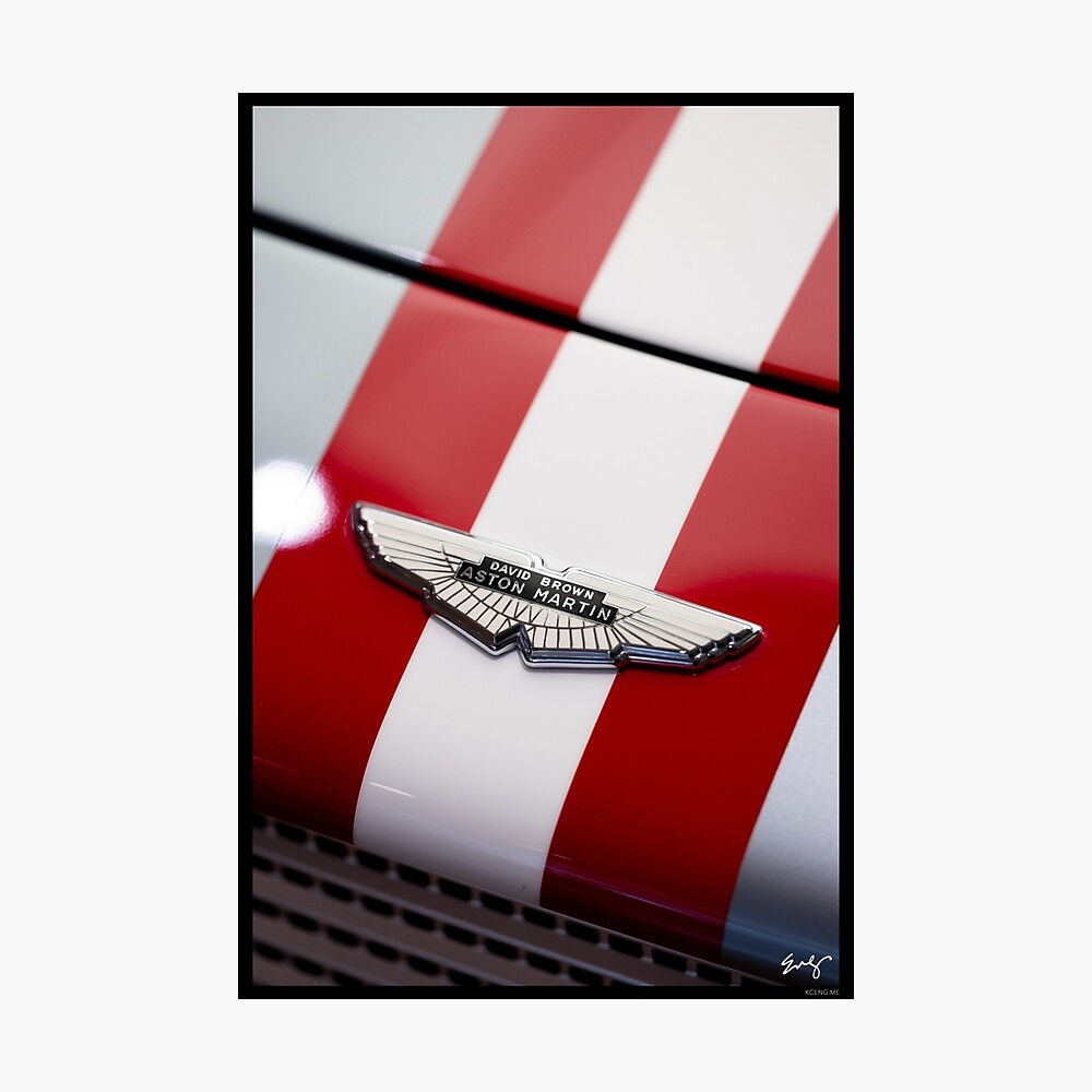 Aston Martin DB4 G.T. Continuation Photographic Print