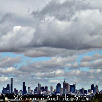 Melbourne Skyline 2010  by SteveHook