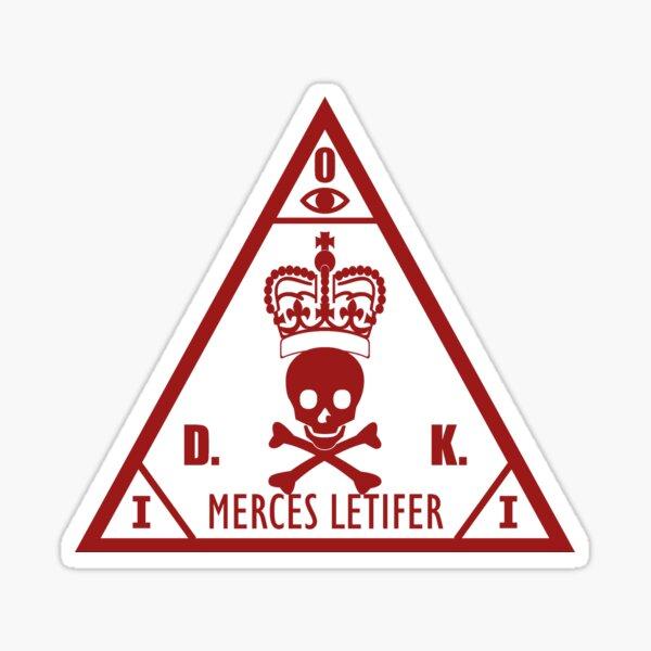 Merces Letifer for darker colors Sticker