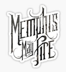 Memphis May Fire Stickers | Redbubble