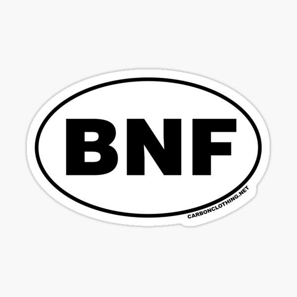 BNF Banff National Park Sticker