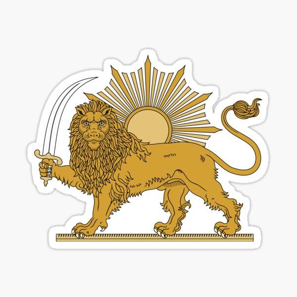 National Emblem of Iran, Provisional Government of Iran, 1979-1980 Sticker