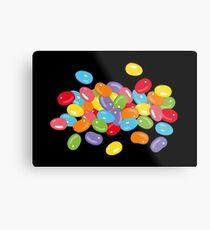 Ostern Jelly Beans Bonbons Süßigkeiten Osterfest Metalldruck