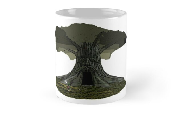 'The Legend of Zelda - Great Deku Tree' Mug by red-leaf