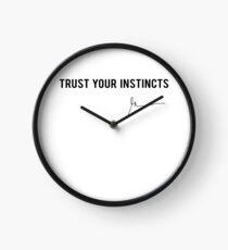 Reloj Gary Vaynerchuk / Gary Vee - Confíe en sus instintos - NEGRO