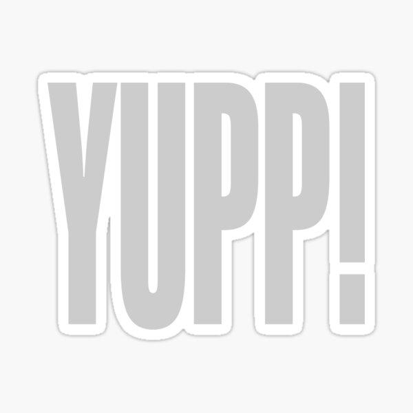 YUPP! Sticker