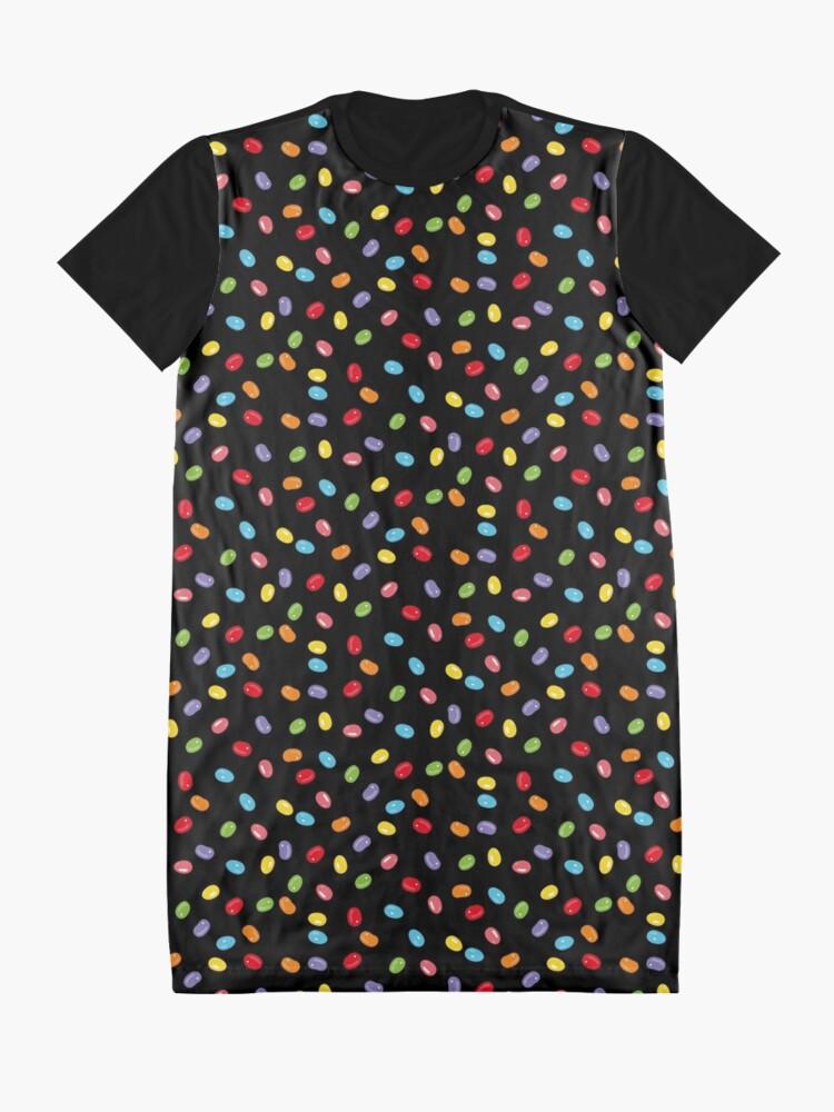 Alternative Ansicht von Ostern Jelly Beans Bonbons Süßigkeiten Osterfest T-Shirt Kleid