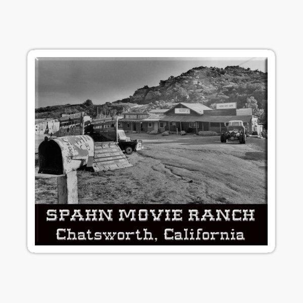 Spahn Movie Ranch Sticker