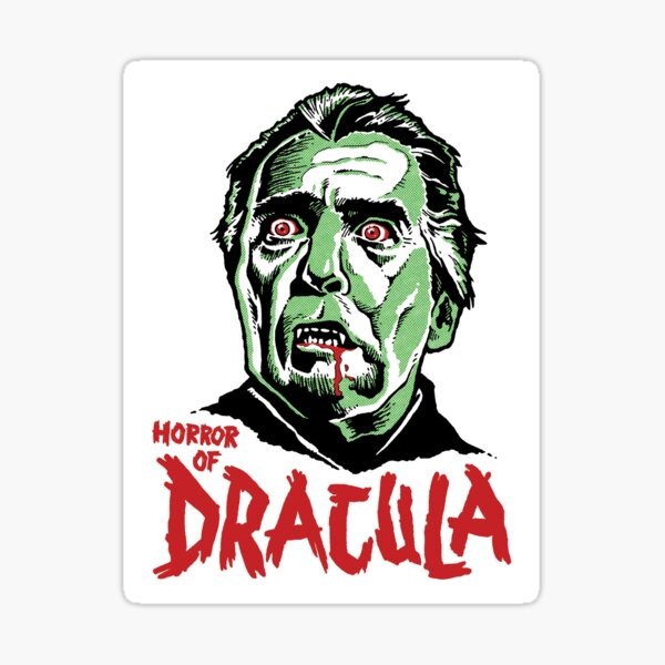 HORROR of DRACULA Sticker