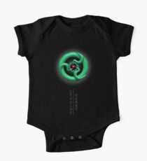 Cthulhu Heart (with text) One Piece - Short Sleeve